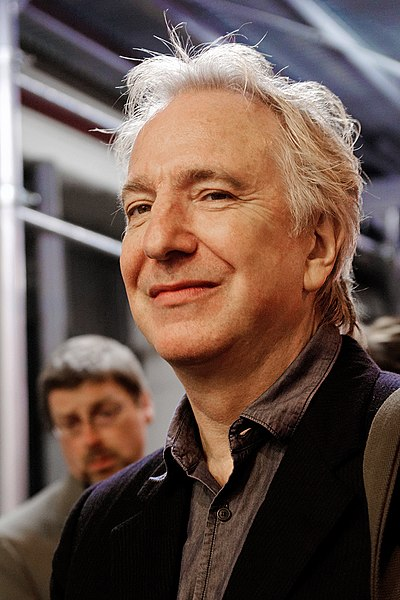 Picture of an author: Alan Rickman