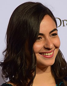 Alanna Masterson - the beautiful, sexy,  actress  with American roots in 2017