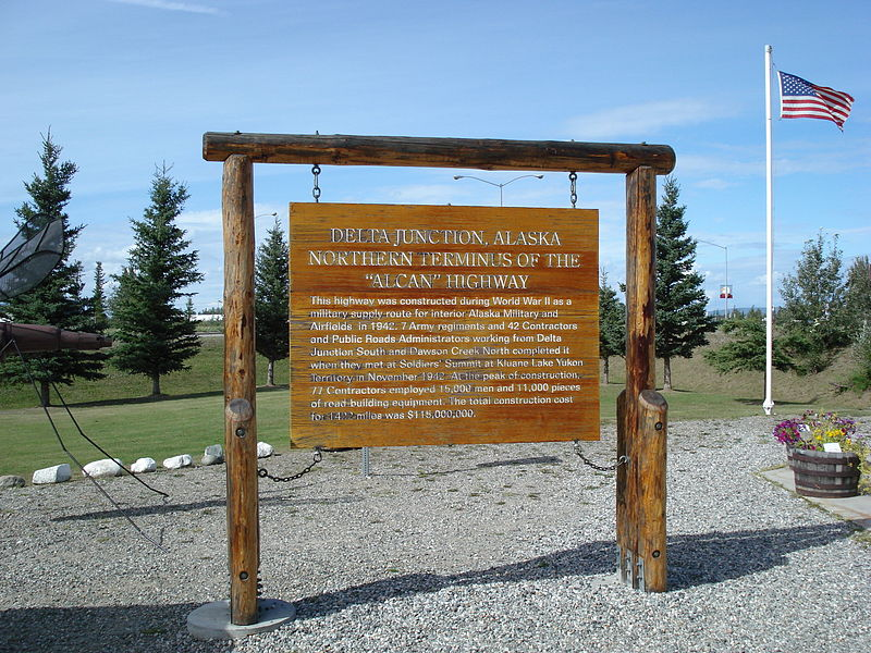 File:Alaska Highway End (Delta Junction).jpg