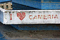 Albania-02595 - Love Cameria - hate Graffiti (10796400145).jpg
