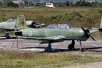 Albanian Air Force - An Albanian air force PT-6