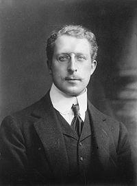Le roi Albert Ier en 1910