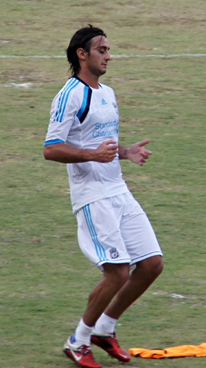 Alberto Aquilani - Aquilani with Liverpool in 2011