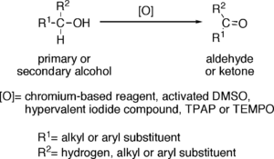 The Oxidation of Alcohols to Aldehydes or Ketones