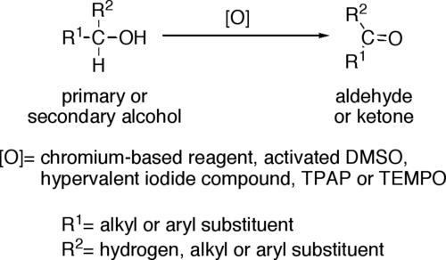 مکانیسم تبدیل الکلهای گونهٔ دوم به کتون