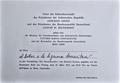 Aldo Samaritani-invito Opera di Roma-Giovanni Leone-Gustav Heinemann-23 marzo 1973.png