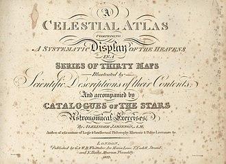 A Celestial Atlas - Title page.