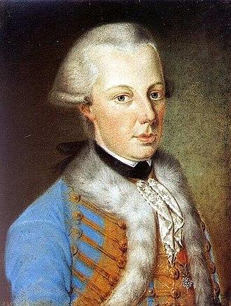 Archduke Alexander Leopold of Austria - Image: Alexander Leopold Habsburg 1772 1795 Palatin