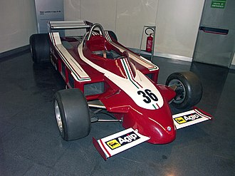 Alfa Romeo in Formula One - The Alfa Romeo 177 which was used during the 1979 season.