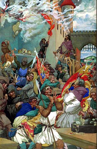 Alfred Garth Jones - Image: Alfred Garth Jones Peasants Revolt