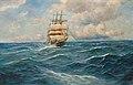 Alfred Jensen - Dreimaster auf hoher See.jpg
