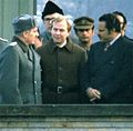Ali Nasir Muhammad (right) as Prime-Minister of PDRY in East Berlin, 1978.jpg