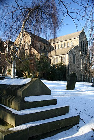 All Saints Church, Ecclesall - Image: All Saints Church, Sheffield