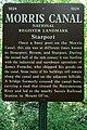Allamuchy Mountain State Park, NJ - Morris Canal, Starport - information sign.jpg