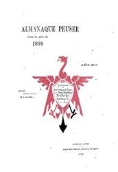 Almanque Peuser (1899)