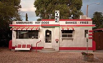 Valentine Diner - Valentine diner on old Route 66 in Valentine, Arizona