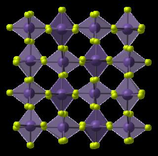 Manganese(IV) fluoride chemical compound