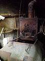 Alter Kessel-Ofen unbekannter Hersteller ehemals Wilh. Boetticher mechanische Weberei und Kleiderfabrik Weidendamm 6 Hannover-Nordstadt.jpg