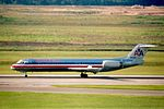 American Airlines Fokker 100 Houston Hobby Intl. 2002-12-AI-7-23A (31500616604).jpg