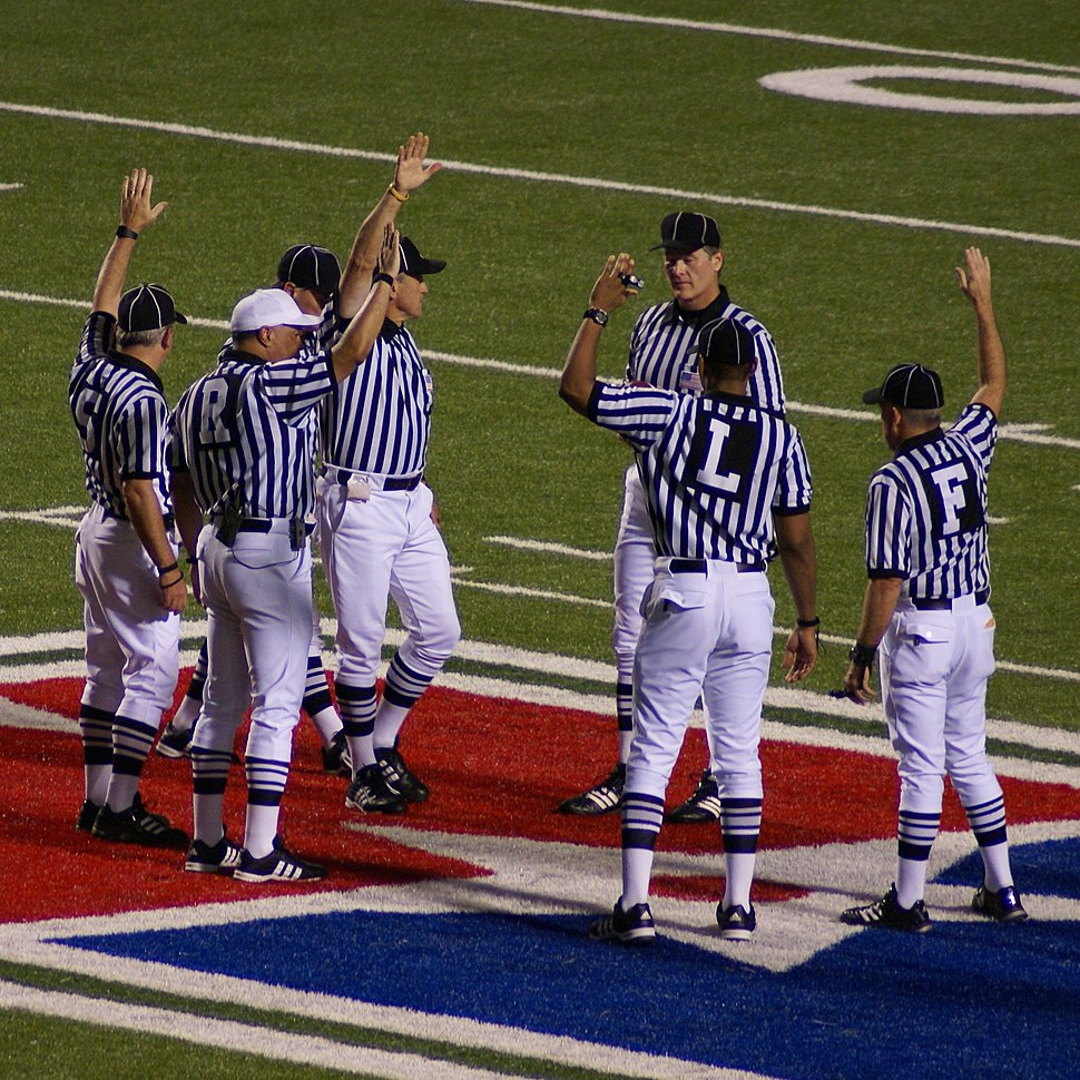 American football referees