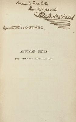 image illustrative de l'article Notes américaines
