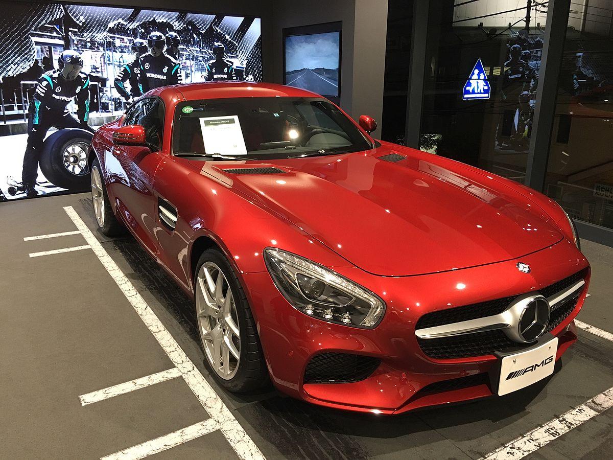 Mercedes Sls Amg Gt >> メルセデスAMG・GT - Wikipedia