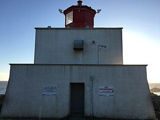 Amphitrite Point Light - Image: Amphitrite Light 1