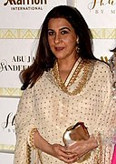 Amrita Singh & Sara Ali Khan at Shaadi By Marriott showcase (08) (cropped).jpg