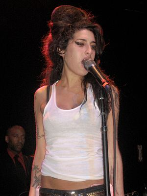 Amy Winehouse in 2007.