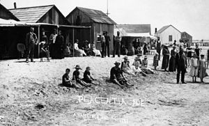Seal Beach, California - Anaheim Landing (now Seal Beach), 1891.
