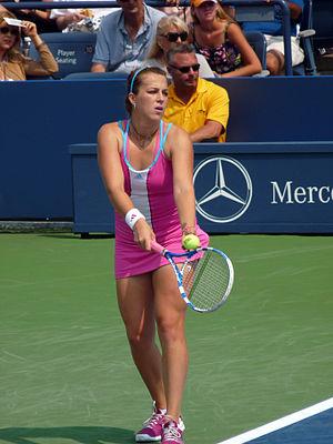 Anastasia Pavlyuchenkova - Pavlyuchenkova at the 2011 US Open
