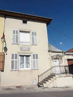 Ancerville (Meuse) maison natale Paul Emile Debraux
