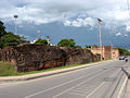 Ancient city wall and Chang Phueak Gate in Chiang Mai.jpg