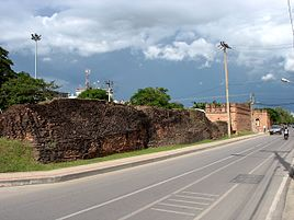 Ancient city wall and Chang Phueak Gate in Chiang Mai
