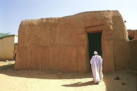 A traditional home in Zinder. Ancient home zinder niger.jpg