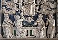 Andrea della robbia, pala dell'ascensione di maria, 04 ss. tommaso con cintola, caterina d'a., francesco e ansano.jpg