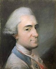 Portret Andrzeja Poniatowskiego (1735-1773)