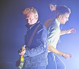 "Gang of Four (band) - Gang of Four in 2014; from left to right: Andy Gill and John ""Gaoler"" Sterry"