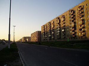 Angarsk - Angarsky Avenue in Angarsk