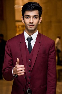 Anirudh Ravichander at Audi Ritz Style Awards 2017.jpg