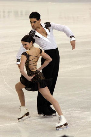 Pasodoble - Image: Anna CAPPELLINI Luca LANOTTE 2009WC CD