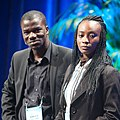 Anne Amuzu and Edward Amartey-Tagoe - Launch Conference - San Francisco.jpg