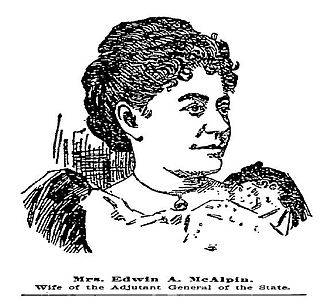Edwin A. McAlpin -  Anne Brandreth McAlpin, wife of General E.A. McAlpin