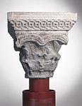 Anonyme toulousain - Chapiteau de colonne simple La Résurrection. Les Saintes femmes au tombeau - Musée des Augustins - ME 137 (2).jpg