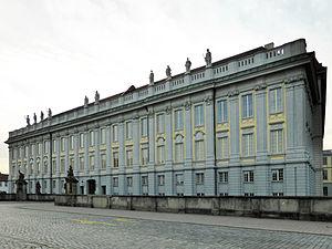 Ansbach Residence - Main facade