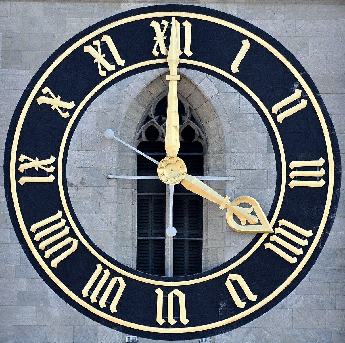List of largest clock faces