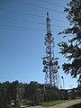 Antena telewizyjna na Chełmcu.JPG