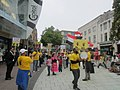 Anti-Coup Alliance protest in Cardiff, Wales, UK on 21 September 2013.jpg