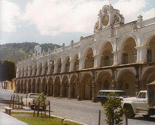 Palacio de los Capitanes Generales, Antigua Guatemala