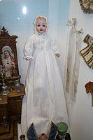 Antique christening doll (26654927245).jpg